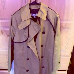 Coach cotton Trench size 0